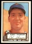 1952 Topps REPRINT #313  Bobby Thomson  Front Thumbnail