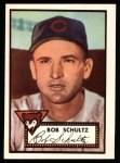 1952 Topps REPRINT #401  Bob Schultz  Front Thumbnail