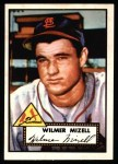 1952 Topps REPRINT #334  Wilmer Mizell  Front Thumbnail