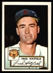 1952 Topps Reprints #354  Fred Hatfield  Front Thumbnail