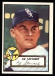 1952 Topps REPRINT #279  Eddie Stewart  Front Thumbnail