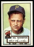 1952 Topps Reprints #167  Bill Howerton  Front Thumbnail