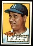 1952 Topps REPRINT #314  Roy Campanella  Front Thumbnail