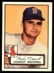 1952 Topps REPRINT #180  Charlie Maxwell  Front Thumbnail