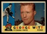 1960 Topps #298  George Witt  Front Thumbnail