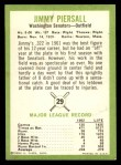 1963 Fleer #29  Jimmy Piersall  Back Thumbnail