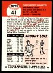 1991 Topps 1953 Archives #41  Enos Slaughter  Back Thumbnail