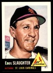 1991 Topps 1953 Archives #41  Enos Slaughter  Front Thumbnail