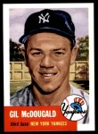 1991 Topps 1953 Archives #43  Gil McDougald  Front Thumbnail