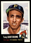 1991 Topps 1953 Archives #71  Tony Bartirome  Front Thumbnail