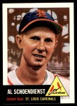 1991 Topps 1953 Archives #78  Red Schoendienst  Front Thumbnail