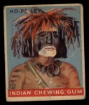 1933 Goudey Indian Gum #147   Ko-Pe-Ley  Front Thumbnail