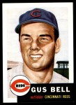 1991 Topps 1953 Archives #118  Gus Bell  Front Thumbnail