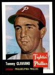 1953 Topps Archives #140  Tommy Glaviano  Front Thumbnail