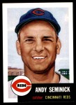 1991 Topps 1953 Archives #153  Andy Seminick  Front Thumbnail