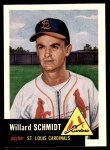 1991 Topps 1953 Archives #168  Willard Schmidt  Front Thumbnail