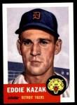 1953 Topps Archives #194  Eddie Kazak  Front Thumbnail