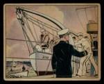 1941 Gum Inc. Uncle Sam Home Defense #22   Abandon Ship Front Thumbnail