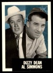 1991 Topps 1953 Archives #326  Dizzy Dean / Al Simmons  Front Thumbnail