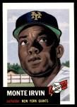 1991 Topps 1953 Archives #62  Monte Irvin  Front Thumbnail