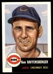1991 Topps 1953 Archives #276  Ken Raffensberger  Front Thumbnail