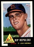 1953 Topps Archives #172  Rip Repulski  Front Thumbnail