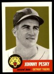 1991 Topps 1953 Archives #315  Johnny Pesky  Front Thumbnail