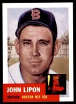 1953 Topps Archives #40  John Lipon  Front Thumbnail