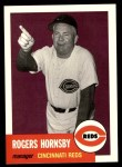 1953 Topps Archives #289  Rogers Hornsby  Front Thumbnail