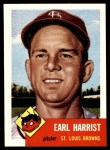 1991 Topps 1953 Archives #65  Earl Harrist  Front Thumbnail