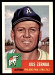 1991 Topps 1953 Archives #42  Gus Zernial  Front Thumbnail