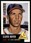 1991 Topps 1953 Archives #60  Cloyd Boyer  Front Thumbnail