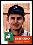 1991 Topps 1953 Archives #17  Billy Hitchcock  Front Thumbnail