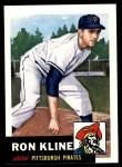1953 Topps Archives #175  Ron Kline  Front Thumbnail
