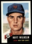 1991 Topps 1953 Archives #151  Hoyt Wilhelm  Front Thumbnail