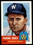 1991 Topps 1953 Archives #164  Frank Shea  Front Thumbnail