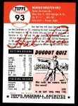 1953 Topps Archives #93  Hal Rice  Back Thumbnail