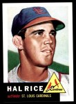 1953 Topps Archives #93  Hal Rice  Front Thumbnail