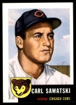 1953 Topps Archives #202  Carl Sawatski  Front Thumbnail