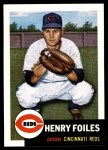 1991 Topps 1953 Archives #252  Hank Foiles  Front Thumbnail