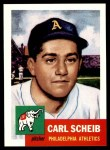 1991 Topps 1953 Archives #57  Carl Scheib  Front Thumbnail