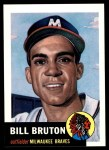 1953 Topps Archives #214  Bill Bruton  Front Thumbnail