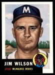 1953 Topps Archives #208  Jim Wilson  Front Thumbnail