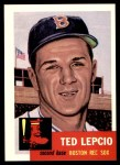 1953 Topps Archives #18  Ted Lepcio  Front Thumbnail