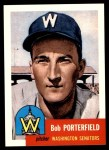 1991 Topps 1953 Archives #108  Bob Porterfield  Front Thumbnail