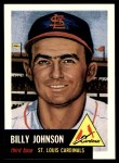 1991 Topps 1953 Archives #21  Billy Johnson  Front Thumbnail