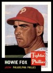 1953 Topps Archives #22  Howie Fox  Front Thumbnail