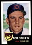 1953 Topps Archives #144  Bob Schultz  Front Thumbnail