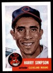 1953 Topps Archives #150  Harry Simpson  Front Thumbnail