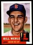 1953 Topps Archives #170  Bill Werle  Front Thumbnail